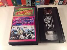 Disk-O-Tek Holiday Rare British Mod Musical VHS 1966 Chiffons Johnny Legend SWV