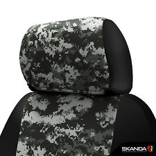 Coverking Digital Camo Neosupreme Front Tailored Seat Covers for Chevy Silverado