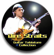 DIRE STRAITS ROCK GUITAR TAB TABLATURE SONG BOOK SOFTWARE BEST OF CD