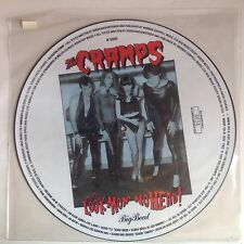 CRAMPS picture disc UK Import LOOK MOM NOHEAD #Ltd Ed NM Poison Ivy RORSCHACH