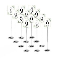 Table Number Holder Card Stand Wedding Centerpieces  Party Decorations 12pcs