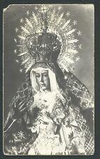 Estampa antigua Virgen de Macarena andachtsbild santino holy card santini
