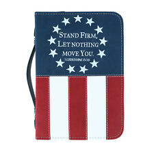 New Divinity Boutique Stand Firm Patriotic Bible Cover Case
