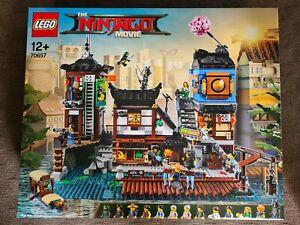 NEW SEALED Lego The LEGO Ninjago Movie NINJAGO City Docks 70657 FREE SHIPPING