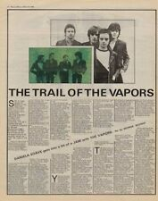 Vapors Interview/article 1980
