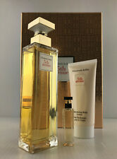 ELIZABETH ARDEN 5TH AVENUE WOMEN 3PC SET EDP SPRAY 4.2 OZ + B/L 3.4 + MINI NIB