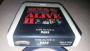 KISS 8 Track Tape KISS ALIVE II Volume II - CASABLANCA NBL8-7076 - 1974