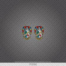 07052 Cinelli Bicicletta Head Badge Adesivi-Decalcomanie-Transfers