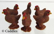 Bantam Hen Bird Safari Ltd Good Luck Mini Realistic Soft Plastic Diorama 6 New S