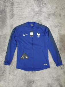 Men's Nike France National Team Anthem Jacket 893590-455 Royal Blue sz M L