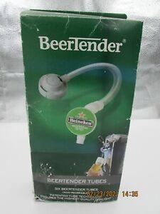 BEERTENDER - SIX (6) Replacement Tubes - NEW SEALED -  Heineken Draught Keg Beer
