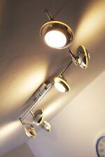 6 spots sur rail Plafonnier LED Lustre moderne Lampe à suspension Chrome 62973