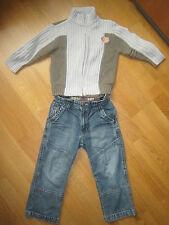 Lot garçon 4 ans gilet + jean Tbon état *** A VOIR ***