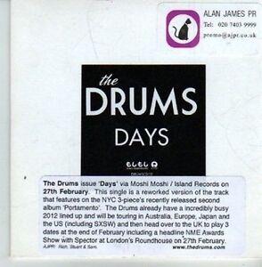(CV953) The Drums, Days - DJ CD