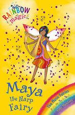 Rainbow Magic: The Music Fairies: 68: Maya the Harp Fairy, Meadows, Daisy, New B