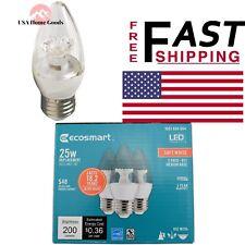 25 Watt Equivalent B11 Dimmable Energy Star Led Light Bulb Soft White (12 Pack)