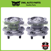 Pair Of 2 Rear Wheel Hub & Bearing Assembly for Altima Maxima Quest 5 Lug w/ ABS