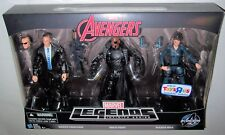 Marvel Legends Agents of SHIELD Exclusive 3-PACK Coulson+Nick Fury+Maria Hill