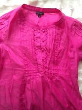 Marks And Spencer Limited Collection Blouse UK Size 8 - Pink - Made With Silk 💕