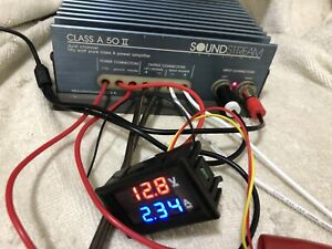 Soundstream Class A50 II Car Amplifier Top Hi-end