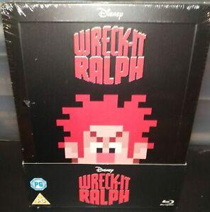 [Blu-ray] Les Mondes de Ralph (Wreck-It Ralph) Steelbook - VF NON INCLUSE - NEUF