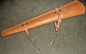 Saddle Scabbard for a .30/.30 Rifle, Fits a Lever Action(Leather) Excellent!!!