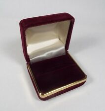 Ring Gift Box Jewelry Display Case Storage Holder Organizer Velvet N07