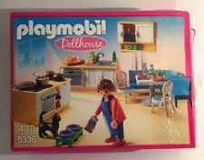 PLAYMOBIL Country Kitchen Kitchenette with Lounge Dolls House - Dollhouse NEW