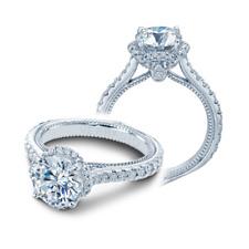 BRAND NEW Verragio ENG-0460R 18K White Gold Engagement Ring