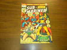 SUB-MARINER #64 Marvel Comics 1973