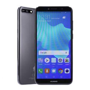Huawei Y6 2018 Dual-SIM 16GB schwarz Smartphone Kundenretoure wie neu