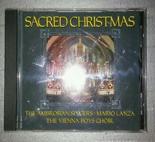 Sacred Christmas by The Ambrosian Singers Mario Lanza The Vienna Boys Choir CD