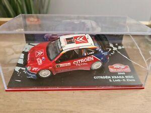 15/ ALTAYA Citroën xsara WRC Loeb Elena Rallye Monte Carlo 2005
