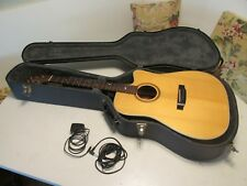 PEAVEY SD-11 CEP 6-String Acoustic Electric Guitar Pearl Inlay Cutaway Finland