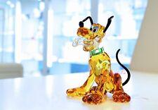 Swarovski Disney Pluto Mickey Mouse 's Friend 5301577 Brand New In Box