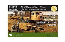 Plastic Soldier Company BNIB 15mm Pak 40 and Raupenschlepper Ost WW2G15004