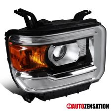 For 2014-2018 GMC Sierra 1500 Right Side Clear Projector Headlight Signal Lamp