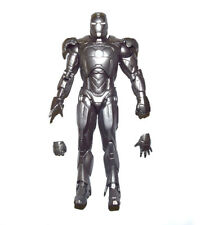 "Marvel Legends Select Avengers Iron Man MK Mark 2 Silver 7"" Action Figure Loose"