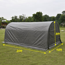 10x20 Ft Canopy Carport Tent Car Shed Shelter Outdoor Storage Cover Sun Uv Proof