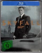SKYFALL BLU-RAY STEELBOOK NEU & OVP SEALED JAMES BOND 007 DEUTSCHE VERSION OOP