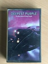 DEEP PURPLE Soldier of Fortune Greatest Hits Singapore Import Cassette Tape