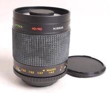Opteka 500mm F8 Mirror Lens - T-mount (C/Y) - 99% Mint