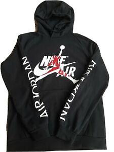 Hoodie Nike Air Jordan Schwarz Grösse M