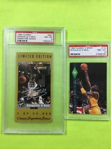 Shaquille O'Neal Rookie Lot PSA 8 #d LSU 1992/94 Classic