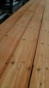 Barnwood knotty pine wide plank floor table wall covering diy floating shelf