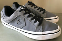 CONVERSE ALL STAR sz 7 Men's Gray Suede/Canvas Low Sneakers Shoes