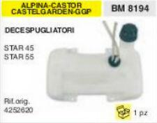 4252620 SERBATOIO DECESPUGLIATORE ALPINA CASTOR CASTELGARDEN GGP STAR 45 55