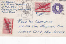 United States 1942 Army Postal Service Opened by US Army Examiner 514 Cover VGC