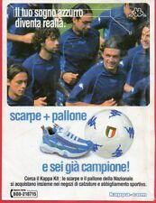Paginetta pubblicitaria Advertising Werbung 2003 KAPPA ...e sei già campione!