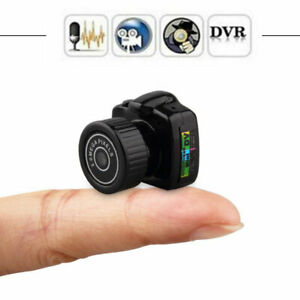 Mini HD Cat Collar Camera Video Audio Recorder Webcam Small DVR Security Secret